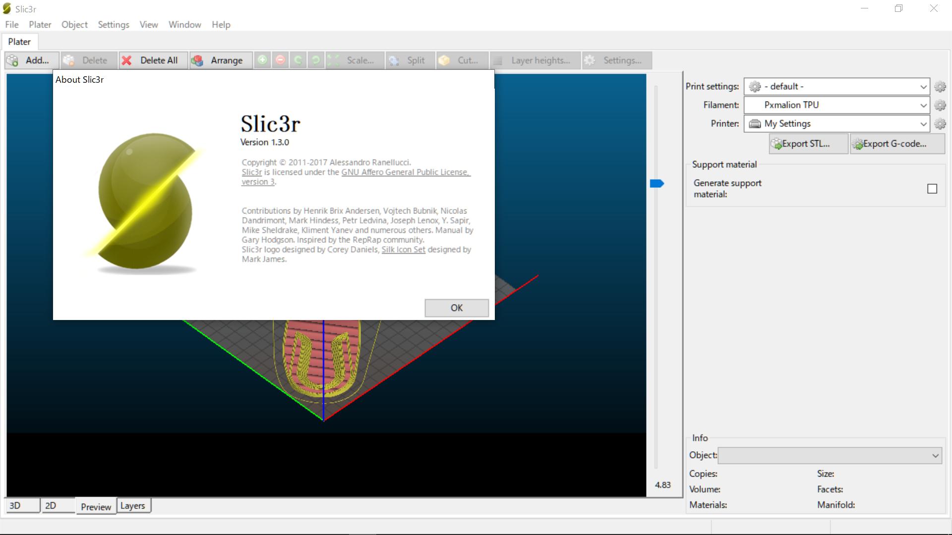 image 3 - スライサーとは(CURA15.04.6とSilc3r)