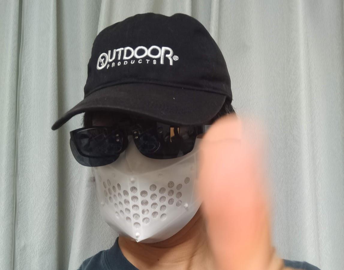 IMAG5053 - 3Dプリンタで作る手作りマスク データ公開
