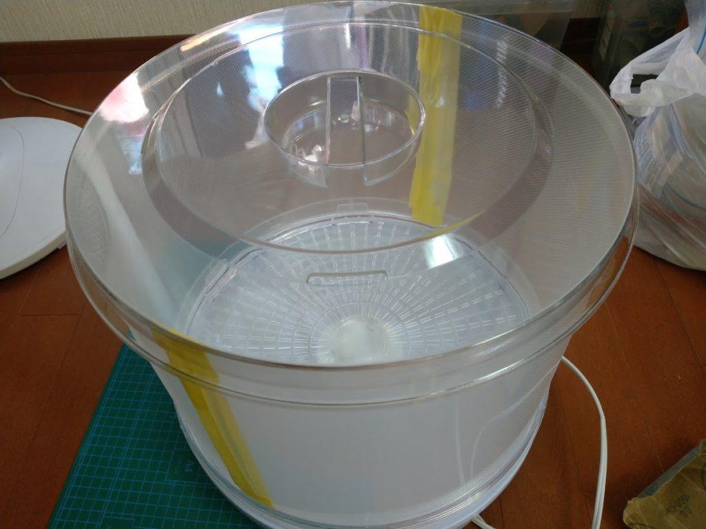 IMAG6016 1024x768 - フィラメント乾燥機を自作(製作時間20分)