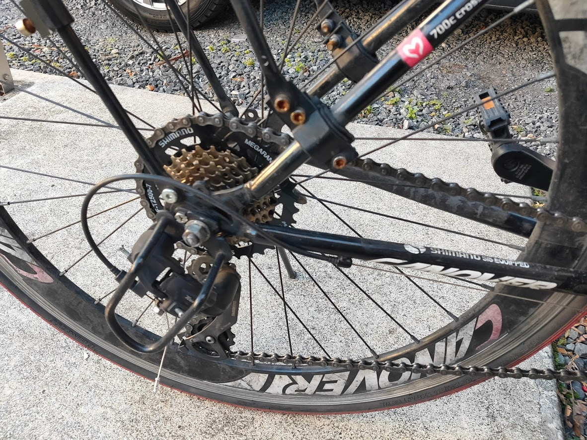 IMG20210101150937 - 複雑怪奇な自転車部品の規格・適合について(スプロケット チェーン クランク ディレーラー BB そしてフレーム)